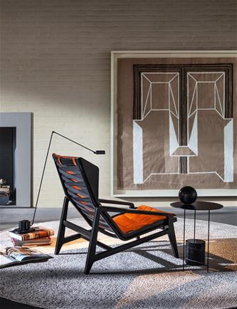 Armchair Gio Ponti armchair with lamp