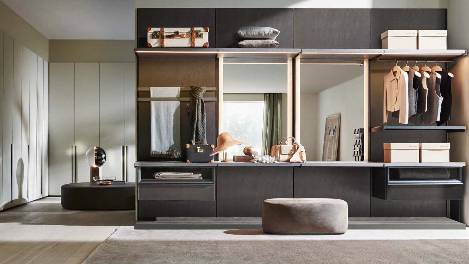 design walk-in closet Master Dressing Vincent van Duysen