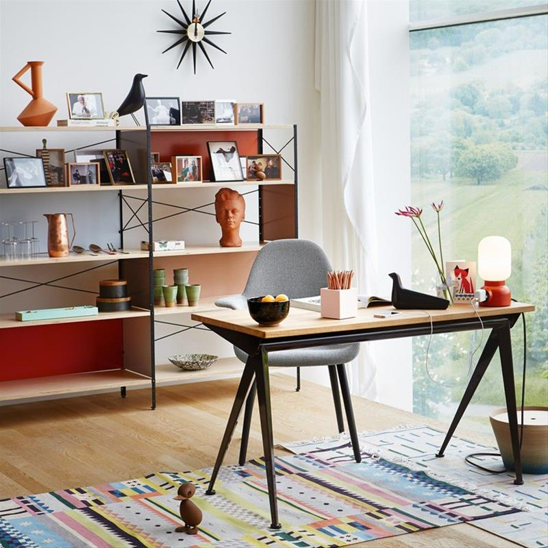 Vitra Eames Storage Unit Bookcase With Desk Accessories