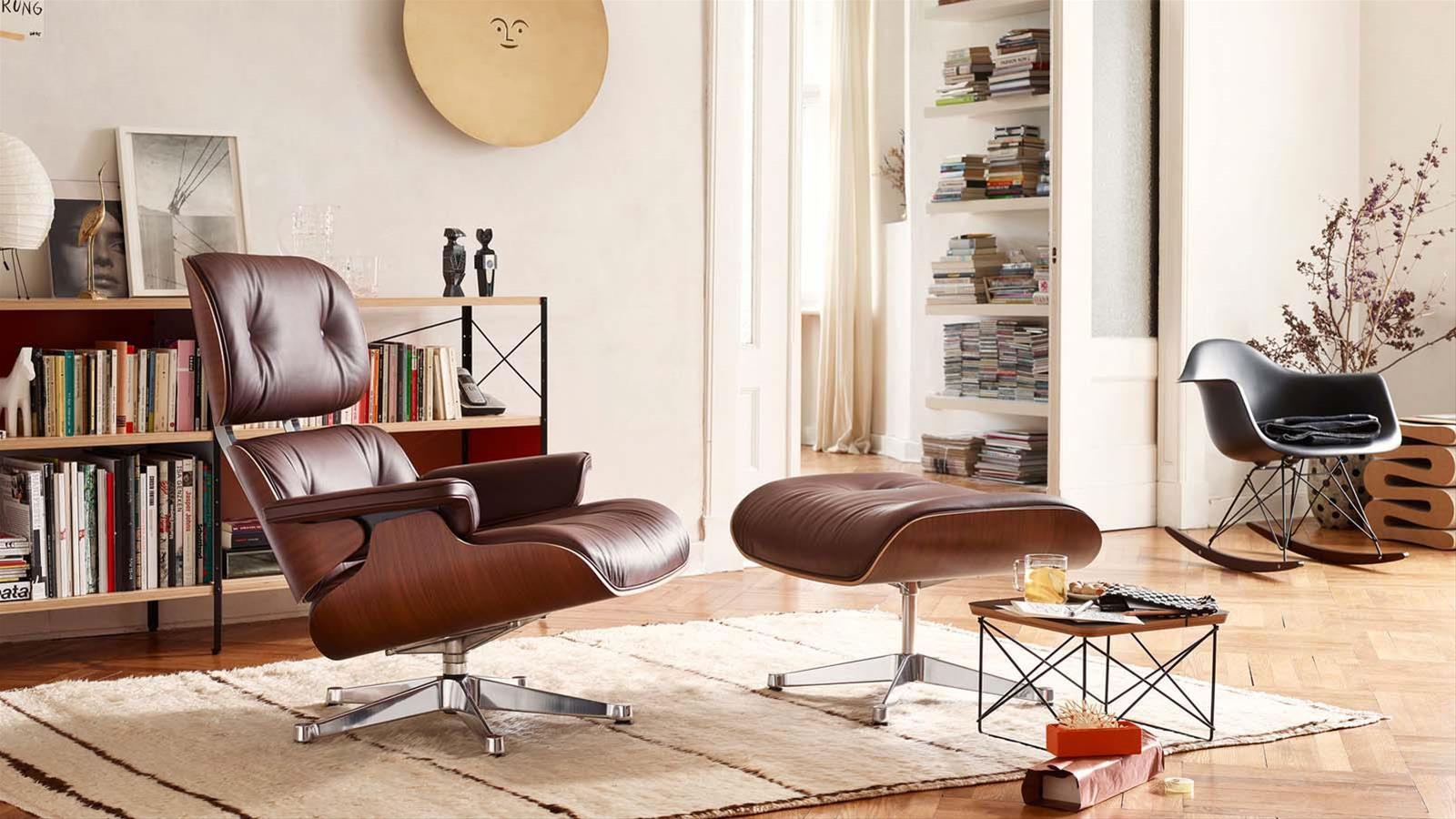 Sedia A Dondolo Vitra.Eames Lounge Chair Storia E Caratteristiche Di Un Icona